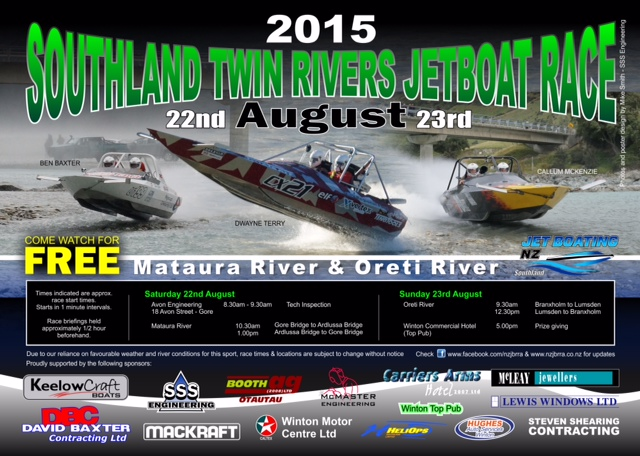 2015 Southland Twin Rivers Race